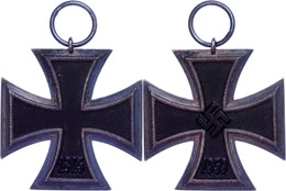 Eisernes Kreuz 1939, 2. Klasse, Geschwärzter Eisenkern, Zustand 2., Katalog: OEK3824/4 II - Militares