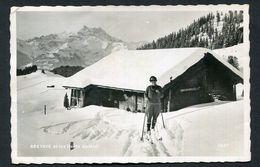Bretaye El Les Dents Du Midi  -  1937   Used  See The 2 Scans For Condition. (Originalscan !!! ) - VD Vaud