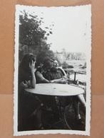 7 Photos D'amateur Promenade à Vélo à L'Abbaye D'Aulne (dont 1 De Bomerée) En 1940 - Orte