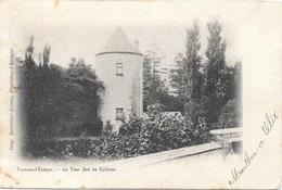 Fontaine-l'Evêque NA83: La Tour Sud Du Château 1902 - Fontaine-l'Evêque