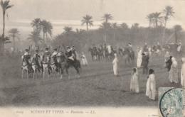 *** ALGERIE ***  Scenes Et Types Fantasia --  TTB - Algérie