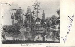 Fontaine-l'Evêque NA84: L'étang Du Château 1902 - Fontaine-l'Evêque