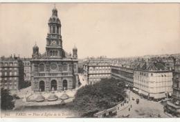 *** 75  *** PARIS  Place De L'église De La Trinité TTB  Neuve - Churches