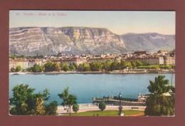 GENEVE - La Rade Et Le Salève - GE Genève