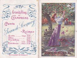 Calendrier Delhaize  Bruxelles 1910 - Calendars