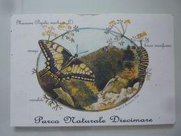 "Cartolina ""PARCO NATURALE DIECIMARE  - MACAONE"" WWF - Cava De' Tirreni"