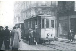 N°1903 R -cpsm Tramway Saint Etienne -REPRO- - Tranvía