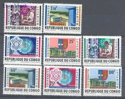 Congo Kinshasa/Zaire 1964 Mi 155-162 MNH ( ZS6 ZRE155-162 ) - Physics