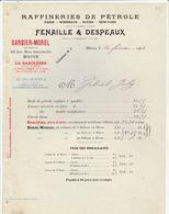 Saône Et Loire - Macon - Fenaille Et Despeaux -Raffineries De Pétrole - La Saxoleine - Benzo Moteur - 1904 - 1900 – 1949