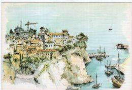 B69800 Cpm Monaco - Le Rocher - Monte-Carlo