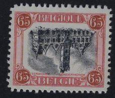 OCB Nr 182 OMGEKEERDE Dendermonde  Termonde - Sans Gomme - Zonder Gom - VALS FAUX FAKE - Variétés Et Curiosités