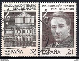 Spain 1997 - Reopening Of The Madrid Royal Theatre - 1991-00 Gebraucht