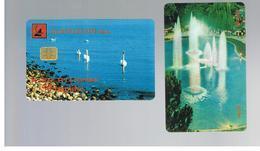 ALBANIA - 1999 BIRDS, SWANS    - USED -  RIF. 10801 - Albanie