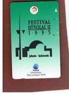 INDONESIA - TELKOM  -  1995 JAKART, FESTIVAL ISTIQLAL              - USED - RIF. 10370 - Indonésie