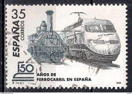 Spain 1998 - The 150th Anniversary Of The Spanish Railway - 1991-00 Gebraucht