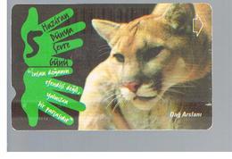 TURCHIA  (TURKEY)  -  2001  ANIMALS: PUMA - USED - RIF. 10770 - Turchia
