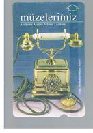 TURCHIA  (TURKEY)  -  2001  ANKARA MUSEUM: PHONE - USED - RIF. 10770 - Turchia