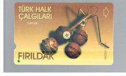TURCHIA  (TURKEY)  -  2001  MUSIC:FIRILDAK - USED - RIF. 10769 - Turchia