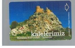 TURCHIA  (TURKEY)  -  2001  OSMANIYE CASTLE     - USED - RIF. 10776 - Turchia