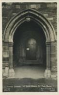 NORTHANTS - EARLS BARTON - ALL SAINTS CHURCH - NORMAN DOORWAY RP N148 - Northamptonshire