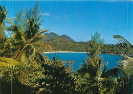 Seychellen - Bay Takamaka Mahe Seychelles - Gel. - Seychelles