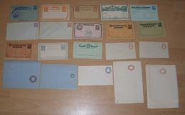 Salvador Ca 1880-1910 Collection 20 Postal Stationery Mint - El Salvador