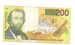 200 Fr - Adolphe Sax - [ 2] 1831-... : Belgian Kingdom