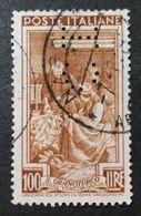 ITALIA 1950 - N° Catalogo Unificato 651 Perfin - 1946-.. République