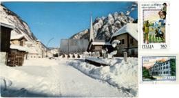 CAVE DEL PREDIL  TARVISIO  UDINE  Panorama Invernale  Nice Stamps - Udine