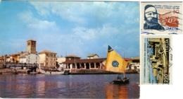 MARANO LAGUNARE  UDINE  Panorama Porto Dei Pescherecci  Nice Stamps - Udine