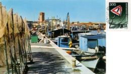 MARANO LAGUNARE  UDINE  Il Porto  Pescherecci - Udine
