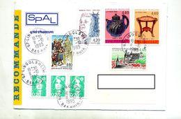 Lettre Recommandée Lingolsheim Sur Paul Table Poterie  Lambesc - Marcophilie (Lettres)
