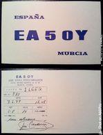 QSL - CARD  MURCIA (ESPAÑA - SPAGNA) - 1979 - Radio Amateur