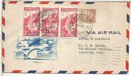 PORTUGAL 1939 HORTA PRIMER VUELO - Poste Aérienne