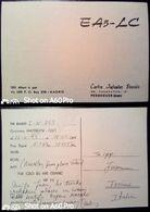QSL - CARD  PEDREGUER, COMUNIDAD VALENCIANA (ESPAÑA - SPAGNA) - 1973 - Radio Amateur