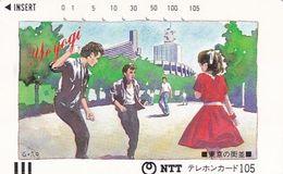 JAPAN - Streets Of Tokyo, Panting/Yoyogi(230-023), 09/86, Used - Japon