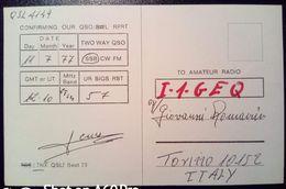 QSL - CARD JAÉN, ANDALUSIA (ESPAÑA - SPAGNA) - 1977 - Radio Amateur