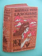 Calendrier LAROUSSE 1938 - Kalenders