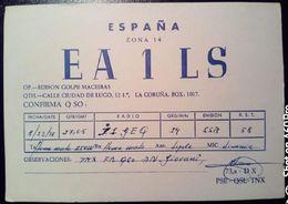 QSL - CARD LA CORUNA (ESPAÑA - SPAGNA) - 1978 - Radio Amateur
