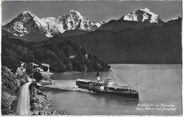 Beatenbucht Am Thunersee.   -   Eiger, Mönch Und Jungfrau.   -   1953   Naar   Gand - Paquebots
