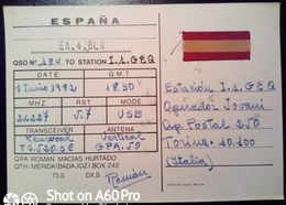 QSL - CARD MERIDA - BADAJOZ, EXTREMADURA (ESPAÑA - SPAGNA) - 1982 - Radio Amateur