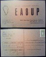 QSL - CARD SANTA CRUZ DE LA PALMA, ISLAS CANARIAS (ESPAÑA - SPAGNA) - 1980 - Radio Amateur