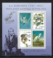 FRANCE  Blocks&Feuillets: ''Oiseaux De Audubon'' Neuf**  TTB - Nuovi