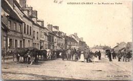 76 GOURNAY EN BRAY - Le Marché Aux Vaches. - Bollinger