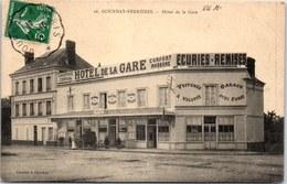 76 GOURNAY FERRIERES - Hotel De La Gare - Bollinger