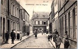 62 AUDRUICQ - Vue De La Rue De L'église. - Audruicq
