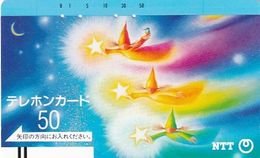 JAPAN - Flying Elves With Stars(230-012), 12/85, Used - Japon