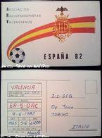 QSL - CARD VALENCIA (ESPAÑA - SPAGNA) - 1982 - Radio Amateur