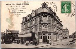 78 MANTES SUR SEINE - L'hotel Moderne Place De La Gare - Mantes La Jolie