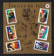 FRANCE  Blocks&Feuillets: ''Etoiles Du Jazz'' Neuf**  TTB - Mint/Hinged